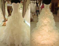 Organza wedding dresses,Organza dresses, wedding dress, beach