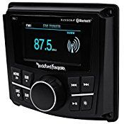 Package: Rockford Fosgate PMX-2 2.7″ Marine Digital Media Receiver W/ Bluetooth And Pandora + Rockville RXM-S20 Proton Series 1600 Watt 4 Channel Micro Marine/ATV Amplifier w/ PA Microphone Included