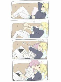 Yuri shall conquer the earth Anime Girlxgirl, Anime Amor, Anime Love, Yuri Manga, Yuri Anime, Yuri Comics, Nerd, Lesbian Love, Lesbian Art