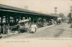 Postcard of City Market in Columbus, GA