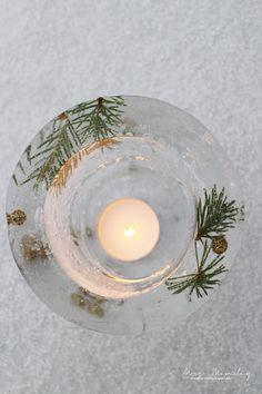 wonderwood | diy islykter // diy ice lanterns
