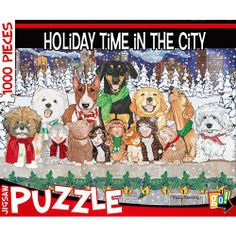 """Holiday Time in the City 1000 Piece Puzzle 