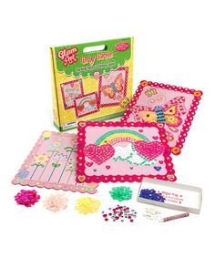 Another perfect gift? Girly Garden Sequin Art Kit
