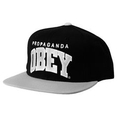 Obey throwback casquette snapback black silver 37€  obey  snapback  caps   hats 0a2817e0b5fe