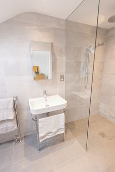 cool 50 Stunning Wet Room Design Ideas You may think if you simply have a little space a wet room might not be feasible. A wet room … Small Wet Room, Small Attic Bathroom, Wet Room Bathroom, Wet Room Shower, Large Bathrooms, Simple Bathroom, Bathroom Ideas, Bathroom Canvas, Ensuite Bathrooms