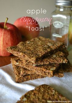 Raw Cinnamon Toast Stack An Unrefined Vegan