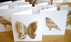 Origami card by Jenni garvin