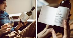 Genius Wine Bottles Have Labels With Short Stories To Read While You Sip -   A good read and a bottle of wine go together like movies and popcorn. That's why Italian winery Matteo Correggia and design agency Reverse Innovat...