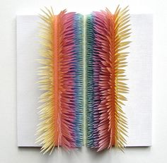 Paper sculptures by Clare Pentlow