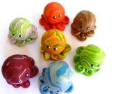 Custom Awesome Little Octopus Choose Yours Up to Three Colors
