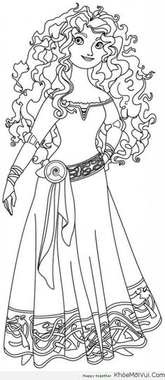 Brave Coloring Pages - GetColoringPages.com | 543x236