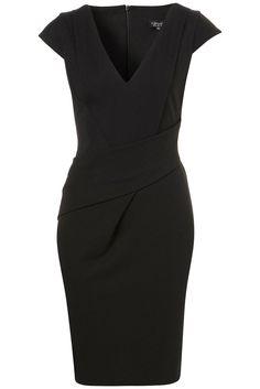 Capitol Hill Style 10th Commandment: V Neck Pencil Dress (Topshop)