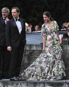 casiraghitrio: Wedding Reception of Pierre Casiraghi and Beatrice Borromeo, Lake Maggiore, Italy, August 1, 2015-Gad Elmaleh and Charlotte Casiraghi
