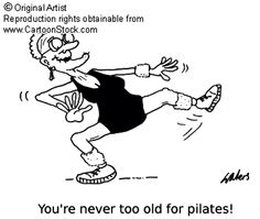 You're never too old for Pilates