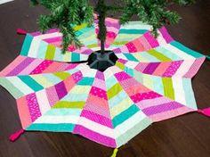 Modern Bright Tree Skirt