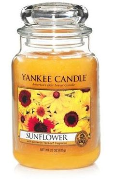 Sunflower Large Jar