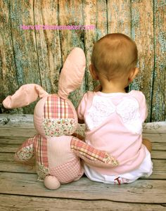 Little friends.  :)  Use a stuffed animal for scale to remember how small your baby was... cute photo!