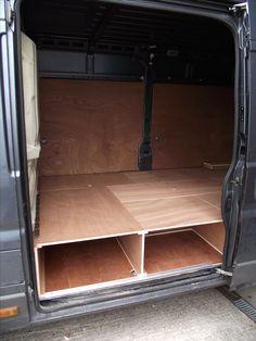 Ford Custom Ply Lining And Raised Floor Bespoke Installs