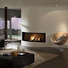 Foyer bois Brunner Architecture 53/135 - 14,5 kW
