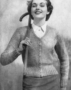 The Vintage Pattern Files - A Link Library of FREE Vintage Knitting, Crochet and Sewing Patterns Scattered Across The Web
