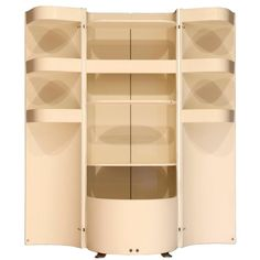 Mid-Century Modern Italian Liquor Cabinet Attributed to Eugenio Gerli for Tecno…