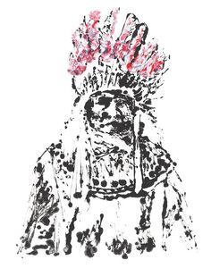 Chief Massachusetts - Michael Gittes Tappan | tappancollective.com Exclusive Artwork