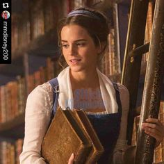 first look at Emma Watson as Belle in Disney's upcoming live-action version of Beauty and the Beast! The film is set to be released worldwide on March 17th, 2017.