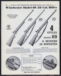 Weapons Guns, Guns And Ammo, Winchester Firearms, Long Rifle, Ads, Advertising, Rifles, Posters, Wood Toys