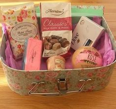 Ladies gift #hamper, mum, sister, #daughter, friend, granny, birthday, #christmas,  View more on the LINK: 	http://www.zeppy.io/product/gb/2/111776946061/
