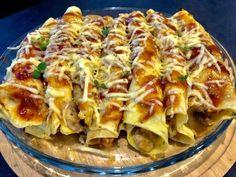 Naleśniki o smaku pizzy - Blog z apetytem Kids Cooking Party, Appetizer Recipes, Dinner Recipes, High Carb Diet, Good Food, Yummy Food, Breakfast Menu, Polish Recipes, Polish Food