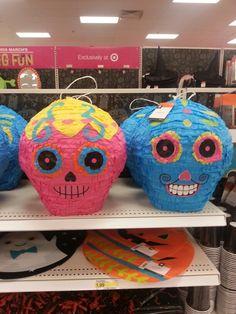 Piñatas~Skull Piñatas from Target