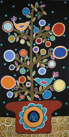 TreeInPot2 by karlagerard, via Flickr