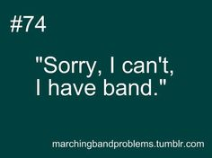 Band geek problem #74