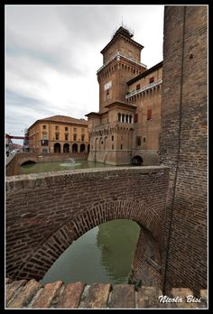 Castello Estense, Ferrara - Italy One of the most beautiful castles I have ever seen
