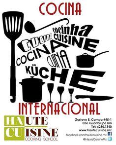 #Curso de #Cocina Internacional 🌎  MIER y VIE 12, 14, 19, 21, 26 y 28 de OCT de 10 a 13 Hrs Info:informes@hautecuisine.mx ☎️6280-1340 #cocinar #Chef #Gastronomia #TrueCooks #Escuela #EscuelaDeCocina #ReleaseTheChef #CookingSchool #HauteCuisine #HauteCuisineCooking #HauteCuisineCookingSchool #HACU #AltaCocina #Cocinero #ClasesDeAltaCocina #foodie #foodies  #FoodPorn #Gourmet #Clase #Clases #ClasesDeCocina #instafoodie #CocinandoAndo #FoodieCDMX #SoyFoodie  Yummery - best recipes. Follow Us…