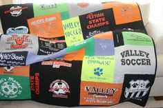 volleyball quilt pattern | Photo Gallery | Campus T-shirt Quilts
