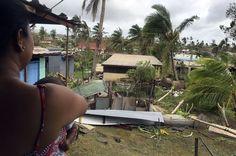 AFP/NAZIAH ALI/MAILIFE MAGAZINE Cyclone Winston Fidji 21/02/2016