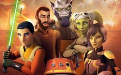 The poster for Star Wars Rebels season 4 teases the final battle between the Ghost's crew and Grand Admiral Thrawn's forces. The official poster f. Luke Skywalker, Illuminati, Scandal, Star Wars Rebels Characters, Captain America, Superman, Marvel Comics, Phineas E Ferb, Netflix