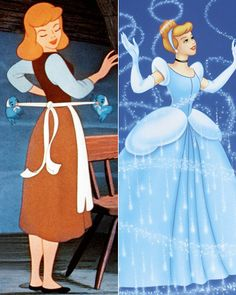 The Best Movie Makeovers - Cinderella (1950) from #InStyle