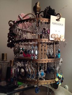 The best earring organizer ever.    Urban Outfitters