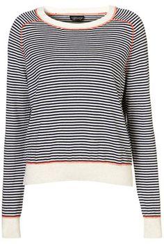 Knitted Stripe Stitch Top    Price:£26.00