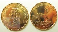 Die südafrikanische Goldmünze Krügerrand 1 Unze 2013