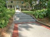 repairing old concrete steps creates new look