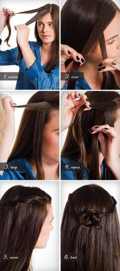 Elf Fairy hairdo