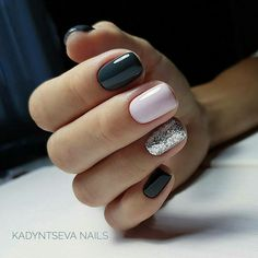 On average, the finger nails grow from 3 to millimeters per month. If it is difficult to change their growth rate, however, it is possible to cheat on their appearance and length through false nails. Classy Nails, Trendy Nails, Gel Nail Art, Nail Polish, Nail Art Designs, Nails Design, Hair Designs, Super Nails, Diy Nails