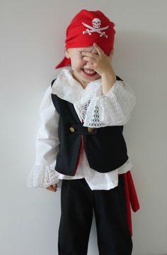 A l'abordage! déguisement de pirate