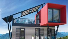 Philosophical checked shed building plans hop over to this site Container Architecture, Architecture Design, Shipping Container Buildings, Shipping Container Home Designs, Shipping Containers, Building A Container Home, Container Cabin, Modern Tiny House, Tiny House Design