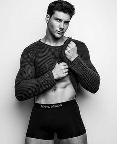 Jaden by Chuck Thomas wearing RICHARD DAYHOFF Athleisure Underwear. @cthomasphoto @jadenzgoetz #richarddayhoff #richarddayhoffunderwear #athleisure #leisure #mensunderwear #RDunderwear #fitness #fitnessmotivation #wellness #menswear #mensstyle #mensfashion #style #fashion #mens #malemodel #abs #sexy #photoshoot #menshealthstyle Men's Underwear, Athleisure, Fitness Motivation, Male Model, Wellness, Hashtags, Men Sweater, Parenting, Shit Happens