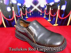 #BORN Brown LEATHER Handcrafted #Loafers #Flats #Slipons #Moccasins Women's #shoes