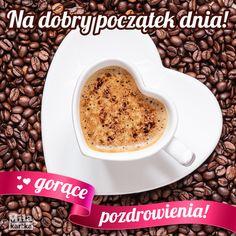 Gorące pozdrowienia #polska #kawa #coffee #pozdrowienia #miłość #poland #dzieńdobry #witam #polish #cappuccino Oatmeal, Coffee, Breakfast, Tableware, Food, Happy, Quotes, The Oatmeal, Morning Coffee